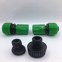 Cút nối nhanh AQUAMATE bằng nhựa D12mm 4 chi tiết Đài Loan W-GH-400-S