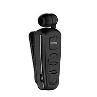 Tai nghe Bluetooth kẹp áo kèm míc, thiết kế sang trọng, thể thao  H103 Đen