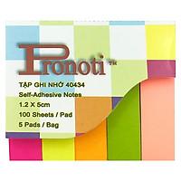 Giấy Note 5 Màu Pronoti 40434
