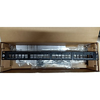 Patch panel cat5e 24 port AMP (Commscope) 1479154-2 / CPP-UDDM-SL-1U-24 - Hàng chính hãng