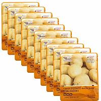 Bộ 10 Gói Mặt Nạ Chiết Xuất Khoai Tây 3W Clinic Fresh Potato Mask Sheet (23ml X 10)