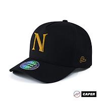 Mũ nón A-Frame Cap Caper đen N logo nhiều màu size M-L