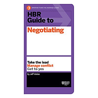 Harvard Business Review Guide To Negotiating
