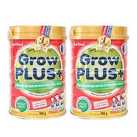Combo 2 hộp Sữa bột Nutifood Grow Plus + Đỏ 900g - Sữa cho trẻ 1-10 tuổi bị suy dinh dưỡng
