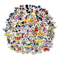 Bộ 50 miếng Sticker hình dán chuột mickey