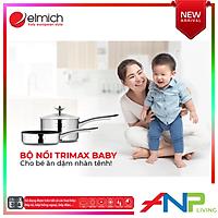 Bộ nồi Elmich Trimax Baby EL-3794 size 14cm