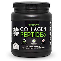 New Zealand Hydrolyzed Collagen Peptides Powder (18.2oz) 50 Servings Unflavored Grass-Fed, Pasture-Raised, Non-GMO