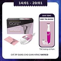 Smoothskin Bare+ Pink - Máy triệt lông cao cấp | Không giới hạn xung bắn, dùng được cho toàn thân, 100 nháy mỗi phút |