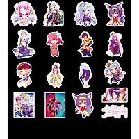 Set 30 Sticker No Game, No Life
