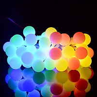 Dải Đèn LED Treo Năng Lượng Mặt Trời Chống Nước Tomlight (50 LEDs) (IP44)