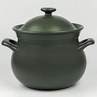 Nồi Dưỡng Sinh Hathor Đáy Từ 7.1L + Nắp Minh Long Healthy Cook Xanh Rêu