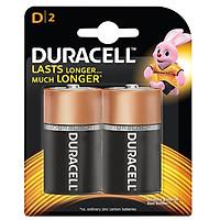 Pin Duracell Alkaline D Battery ( Bộ 2 Viên) - Hàng chính hãng