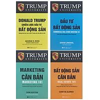 Combo 4 cuốn sách kinh tế tâm đắc nhất: Donald Trump - Chiến Lược Đầu Tư Bất Động Sản + Đầu Tư Bất Động Sản + Marketing Căn Bản + Bất Động Sản Căn Bản - (Tái Bản Năm 2021) (Tặng kèm bookmark Happy Life)