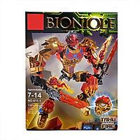 [Có Video] Mô hình đồ chơi Bionicle 611-1 Tahu Fire (132 chi tiết)