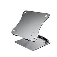 Giá đỡ để laptop nhôm nguyên khối có thể chính độ cao, góc nghiêng cho máy tính xách tay iPad Surface Macbook