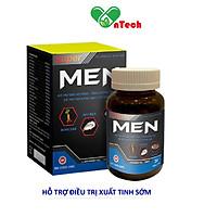 Tinh chất hàu biển super MEN tăng cường chức năng sinh lý nam giới cải thiện tình trạng yếu sinh lý xuất tinh sớm rối loạn cương dương