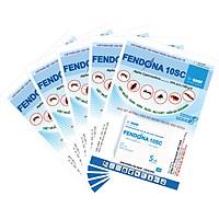 Combo 5 gói thuốc diệt muỗi, gián, kiến, ruồi, bọ chét, kiến ba khoang Fendona 10SC (5ml) (Bao bì mới)