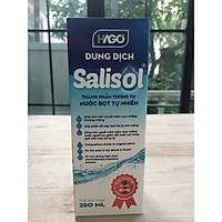 Dung dịch SALISOL (nước súc miệng, nước bọt nhân tạo)