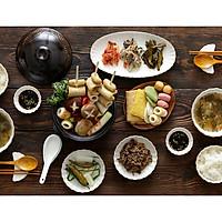 Bộ chén đĩa gốm sứ cao cấp giành cho 4 người - Cotton - Erato - Hàng nhập khẩu Hàn Quốc