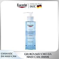 Gel Rửa Mặt Cho Da Nhạy Cảm Eucerin DermatoCLEAN Refreshing Cleansing Gel 200ml