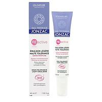 Kem dưỡng phục hồi và làm dịu da bị kích ứng Eau Thermal Jonzac Reactive High Tolerance Light Emulsion 40ml (Dành cho da dầu, hỗn hợp)
