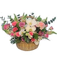Giỏ hoa tươi - Thơ Mộng Ngọt Ngào 4187