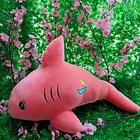 Gấu bông Cá Heo tinh nghịch màu hồng,dài 70cm