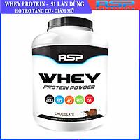 RSP Whey Protein Powder (5LB), 28G Whey Protein Cao Cấp với BCAAs và Glutamine, Hỗ Trợ Xây Dựng Cơ Bắp & Phục Hồi Sau Tập Luyện, 51 Lần Dùng