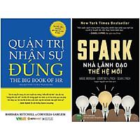 Combo 2 Cuốn: Quản Trị Nhân Sự Đúng + Spark Nhà Lãnh Đạo Thế Hệ Mới