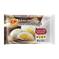 [Chỉ Giao HCM] - Bánh bao trứng sữa Custard Đông lạnh CP - Khay 270g
