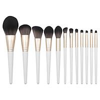 12Pcs Makeup Brushes Set Eye Shadow Foundation Powder Blush Highlight Make Up Brush Cosmetic Beauty Tool Kit
