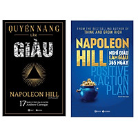 Combo Tuyệt Chiêu Làm Giàu: Quyền Năng Làm Giàu + Nghĩ Giàu Làm Giàu 365 Ngày - Positive Action Plan (Top sách Kinh tế bán chạy nhất của Napoleon Hill - Tặng Bookmark Happy Life)