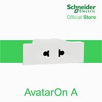Ổ cắm đơn 2 chấu 16A, size S AvatarOn A - Schneider Electric - M3T426US-WE