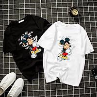 Áo thun Nam Nữ Không cổ MICKEY GIÀ CIMT-0036 mẫu mới cực đẹp, có size bé cho trẻ em / áo thun Anime Manga Unisex Nam Nữ, áo phông thiết kế cổ tròn basic cộc tay thoáng mát