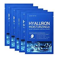 Mặt Nạ Dưỡng Ẩm, Dưỡng Trắng Da Some By Mi Hyaluron Moisturizing Sheet Mask 25g