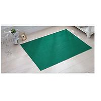 Thảm nhựa chống trơn trượt khổ 1m2 màu xanh lá cây sử dụng lót sàn xe, khu vực dầu mỡ, dễ trơn trượt, hồ bơi, toilet, sân ướt (Hàng Việt Nam)