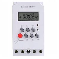 Công tắc hẹn giờ kg316t-ii 17 chương trình bật tắt tự động công suất lớn 25A/220V ổ cắm hẹn giờ timer hẹn giờ điện tử
