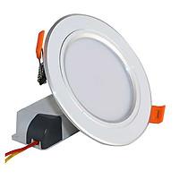 Đèn LED âm trần (downlight) 3 màu GREENLED   Công suất: 7W, 9W   Tiết kiệm điện   Sử dụng trang trí trần nhà, cửa hàng, quán xá, phòng ngủ, phòng khách trung tâm thương mại