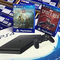 PS4 Slim 1TB Chính Hãng Việt Nam, tặng kèm 2 đĩa game ps4
