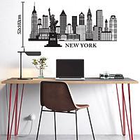 Decal Trang Trí Phòng Làm Việc, Decal Trang Trí Phòng Ngủ, Decal Trang Trí Phòng Khách | Decal Chủ Đề New York