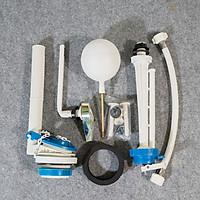 Bộ xả cóc cấp phao dùng cho bồn cầu 2 khối gạt hông, gạt trước