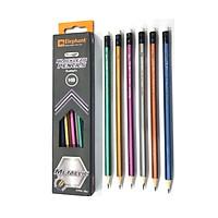 Bút chì đen HB Metallic Elephant (1 Hộp)