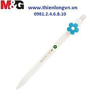 Bút chì kim bấm 0.5mm M&G - AMPV9901 thân màu trắng