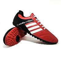 Giày Đá Bóng Sân Cỏ Nhân Tạo Prowin 3 Sọc Màu Đỏ - Hàng Chính Hãng