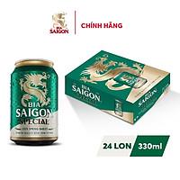 Thùng 24 Lon Bia Sài Gòn Special 330ml