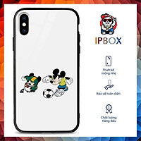 Ốp Chống Bẩn Ip In Hình Mickey Thể Thao IPBOX Cho Iphone 6 S Plus/7/8 Plus/Xr/X/S Max/11/11ProMax/12Mini/12ProMax