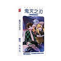 (BÌA NGẪU NHIÊN) Hộp ảnh POSTCARD mẫu mới KIMETSU NO YAIBA - THANH GƯƠM DIỆT QUỶ anime