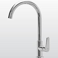 Vòi rửa chén Malloca inox 304 - Một nguồn lạnh K1603CL