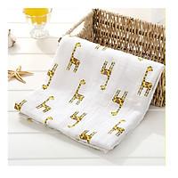 Set 2 khăn tắm xô cho bé (kt 120x120cm) - Họa tiết ngẫu nhiên