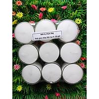 Nến tealight 9 viên không mùi rất dày cháy từ 9h-10h | Bio Aroma